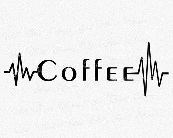 Coffee Lifeline Svg Funny Lifeline Svg Love Coffee Svg Etsy
