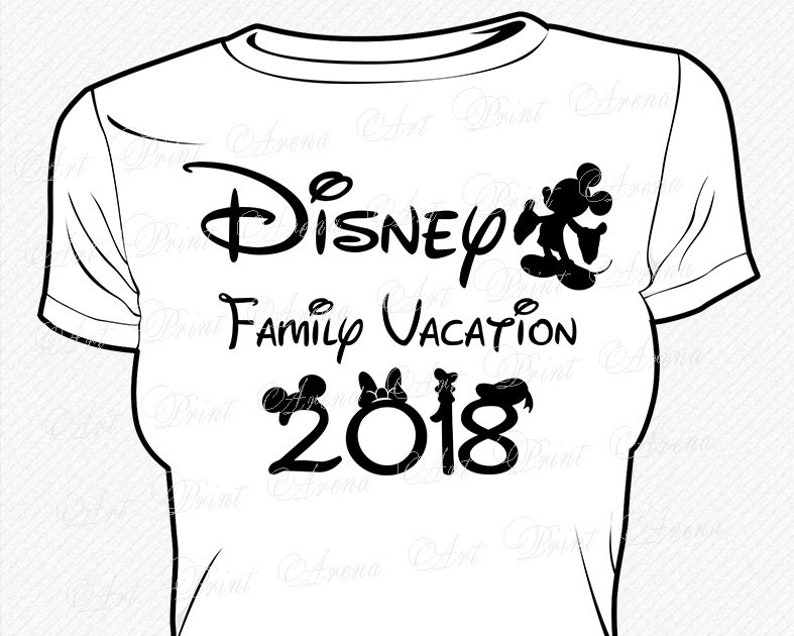 Disney Family Vacation Svg Disney Trip Svg Mickey Family