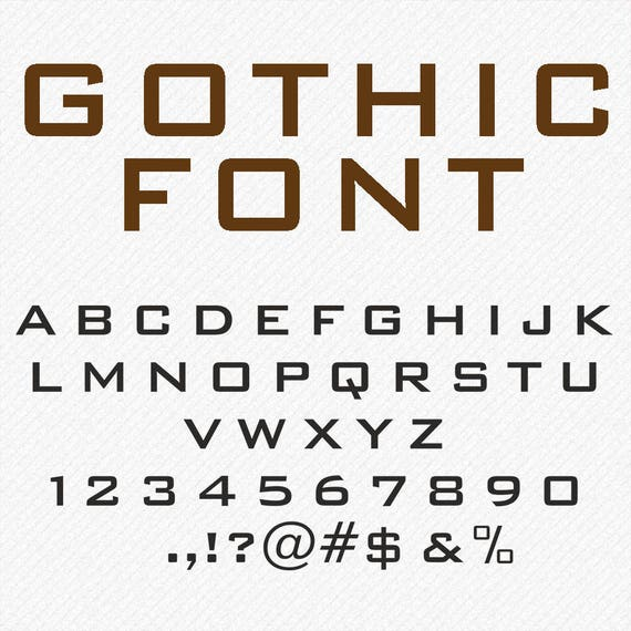 Lettres gothiques svg dxf eps png banque monogramme etsy image 0 thecheapjerseys Choice Image