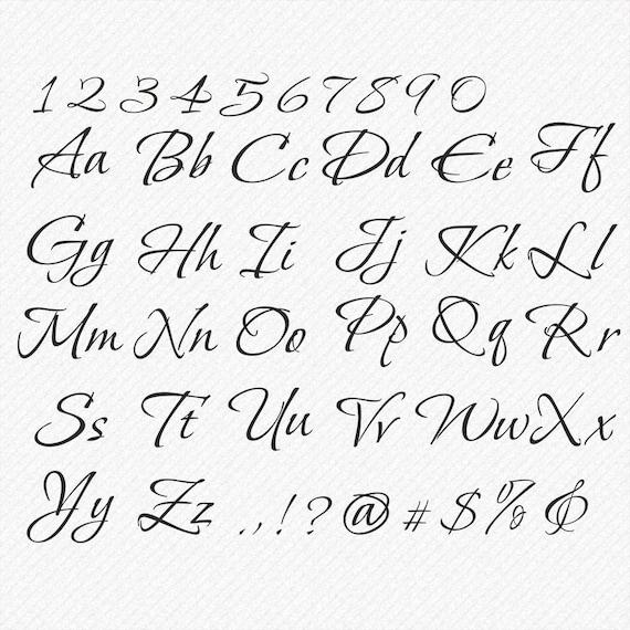 schreibschrift schriftarten