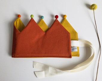 """Fabric crown * Birthday crown * Children's crown """"Birthday Children"""""""