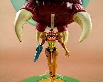 Mother and Child – Samus Metroid Amiibo Display