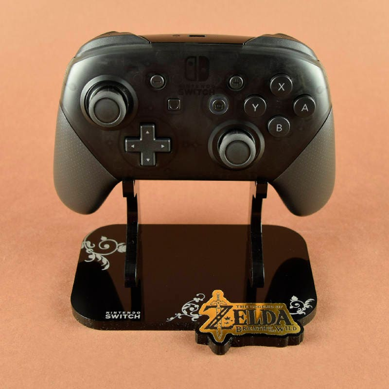 Zelda Breath Of The Wild Themed Nintendo Switch Pro Etsy