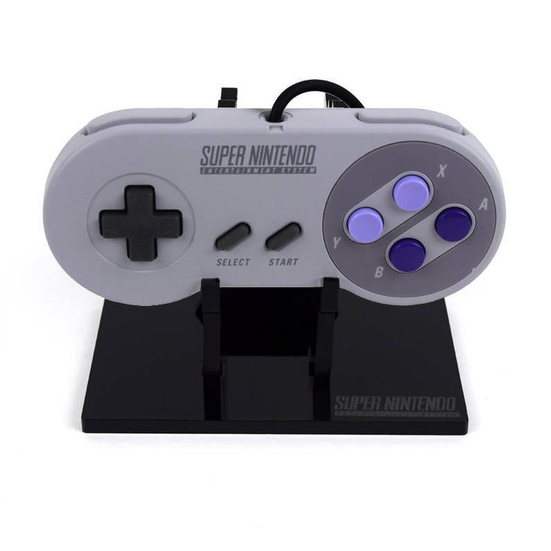 Super Nintendo SNES Controller Display Stand