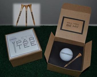 Groomsmen Proposal, Golf Ball Proposal, Groomsmen Golf Gift, Best Man Golf Gift, Best Man proposal, Groomsmen Golf Proposal