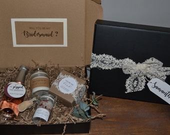 Bridesmaid Proposal Box, Maid of Honor Proposal Box, Will you be my Bridesmaid, Bridal Party Gift, Bridesmaid Gift