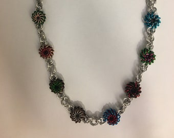 Guardians of the Galaxy Whirlybird Chainmaille Necklace
