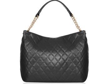 Quilted handbag | Etsy