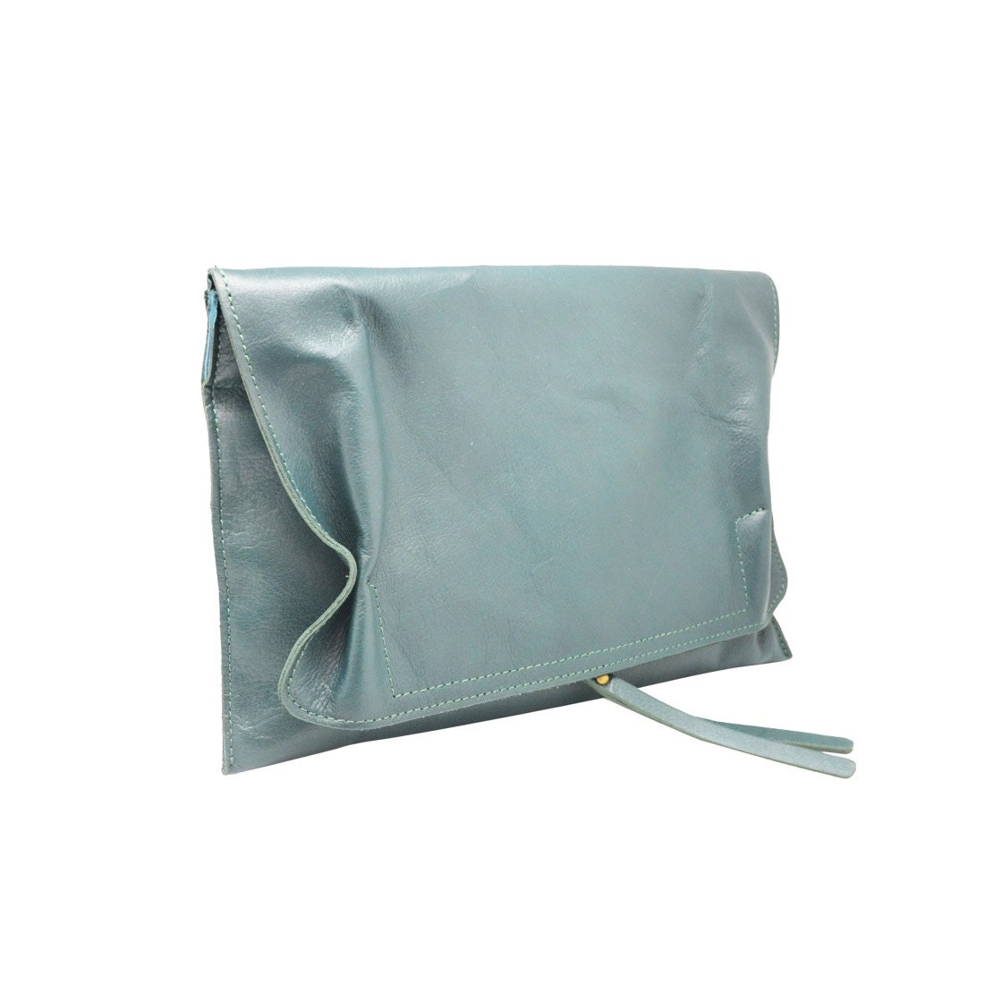 f2c7c7e7c61b3 LOREN Italian Envelop clutch mini bag smooth soft leather, evening clutch  mini bag, Italian bag adjustable shoulder strap wrist wallet purse