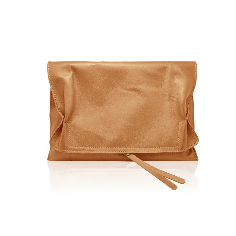4384903fae543 LOREN Italian Envelop clutch mini bag smooth soft leather, evening clutch  mini bag, Italian bag adjustable shoulder strap wrist wallet purse