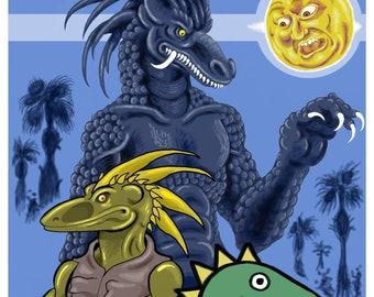 Dinosaur Demigod: A Character Study