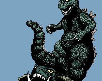 Godzilla: Surf's Up