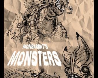 Monsarrat's Monsters 2018 Artbook