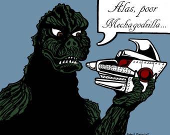 Alas Poor Mechagodzilla