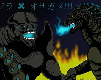 Godzilla vs. Leatherback
