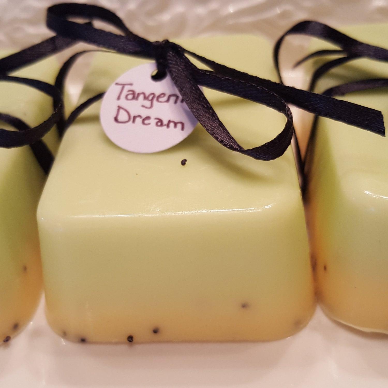 TANGERINE DREAM - tangerine, mint, and poppy seed