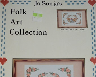 1 By Jo Sonja Jansen Vintage Tole And Decorative Painting Pattern Book 1983 Heritage Designs Vol