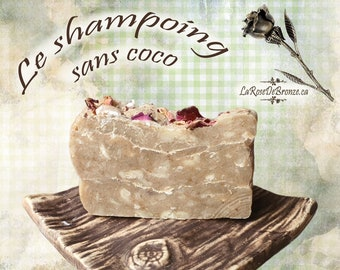 Without coco shampoo solid artisanal soap without coconut