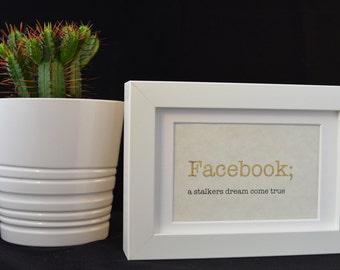 Facebook frame | Etsy