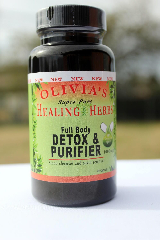 DR SEBI inspired Full Body Detox & Purifier (60ct)