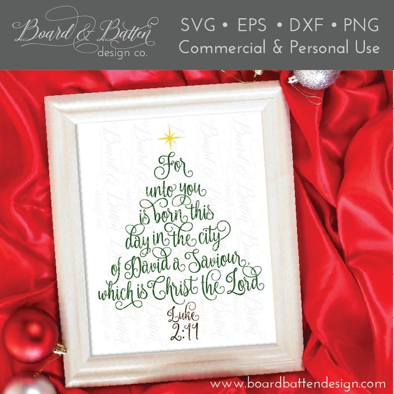Christmas Tree Svg  Christian Christmas Svg  Christmas Svg image 0