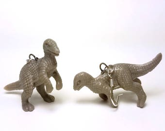 Iguanodon Dinosaur Earrings