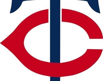 Minnesota Twins Cornhole Decals / SET of 2   #3