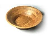 """14"""" quarter-sawn white oak bowl"""