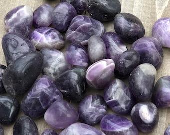 High Quality Amethyst Crystal Tumbled Gemstone