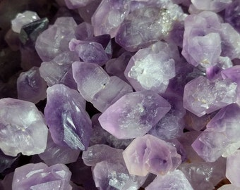 Bulk Rough Amethyst Crystals - Skeletal Amethyst