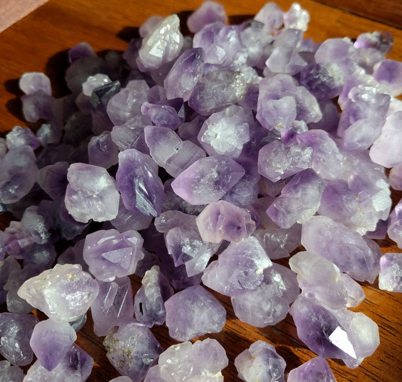 Bulk Rough Amethyst Crystals  Skeletal Amethyst image 0