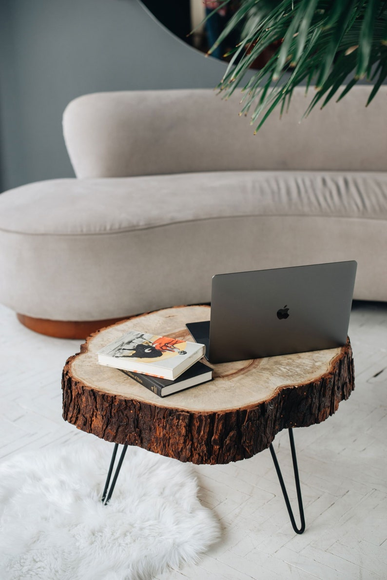 Picture of: Coffee Table Wood Coffee Table Live Edge Coffee Table Etsy
