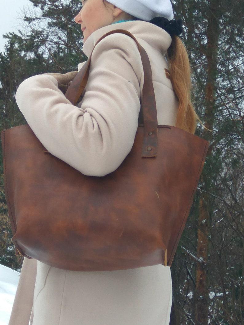 tote bagbrown tote Handbag large bags