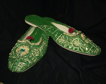 Royal Slippers Green