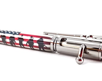 Military Bolt Action Pen / Deployment Gift / Army Gift / Support The Troops / Marine Gift / Bullet Gun Pen / Navy Gift / Coast Guard Gift