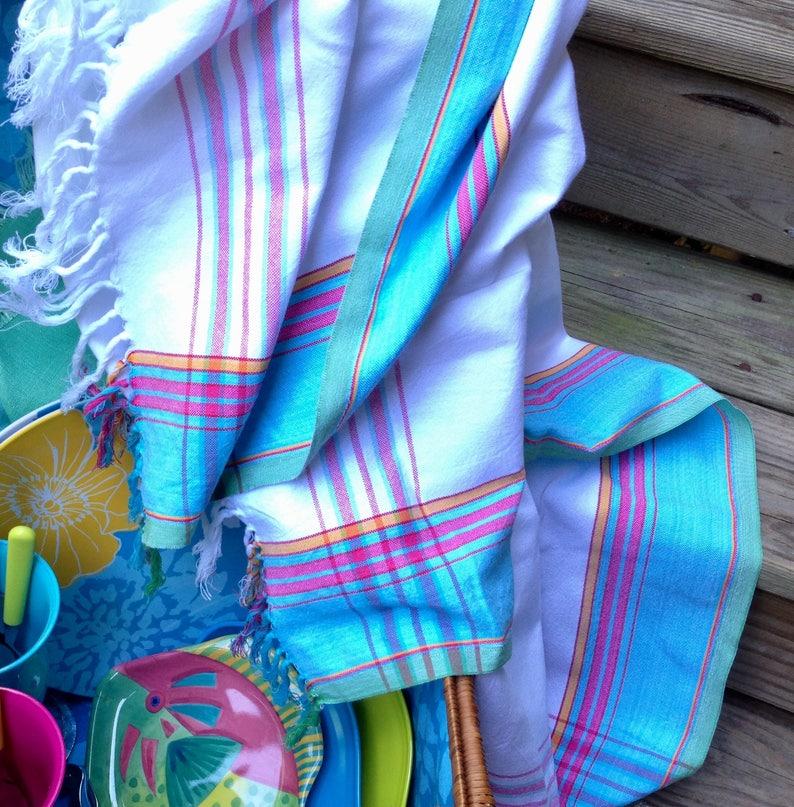 Item #PL028 Picnic Basket Set Wedding Gift /& Cutlery Glamping Cloth Napkins Vintage Basket Removable Beach Sign