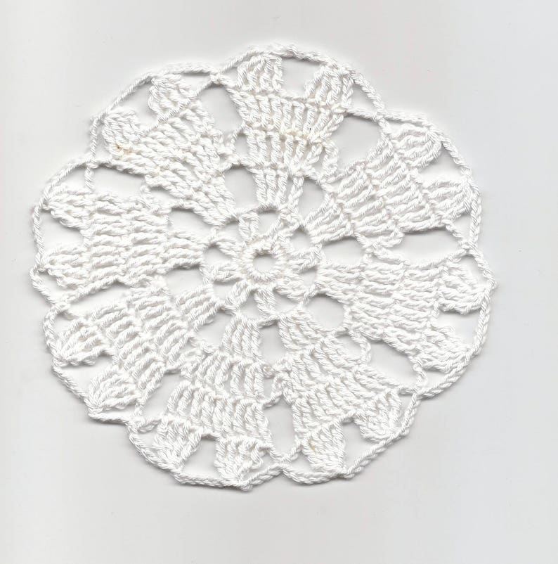 Original Lace Hand Crocheted Table Placemats Home Wedding Party Coffee Table Decor Reputation First Lace, Crochet & Doilies Linens & Textiles (pre-1930)