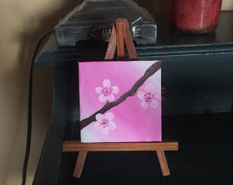 Bloom (A gouache painting)