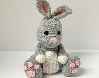 Crochet Bunny Pattern - Easter Rabbit Crochet Pattern - Crochet Stuffed Rabbit Pattern - Cute Rabbit Pattern