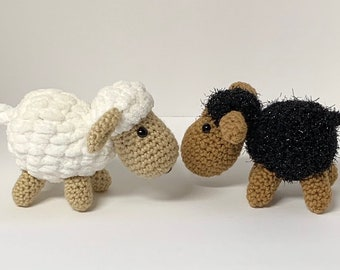 Crochet sheep pattern - Crochet mini Lamb Pattern