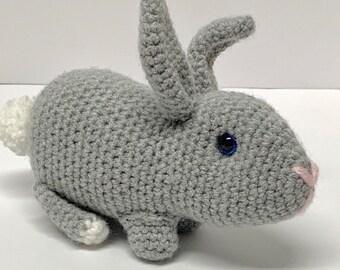 Crochet Bunny Pattern - Crochet Rabbit Pattern - Realistic crochet rabbit Pattern - Easter Bunny Pattern