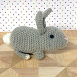 Crochet Bunny Pattern - Crochet Rabbit Pattern - Realistic crochet rabbit Pattern