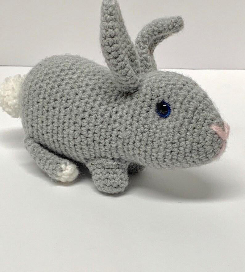 Crochet Bunny Pattern  Crochet Rabbit Pattern  Realistic image 0