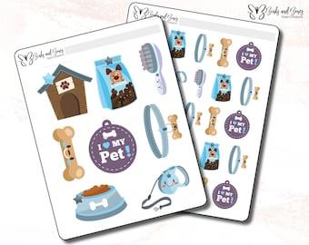 Puppy Accessory Stickers