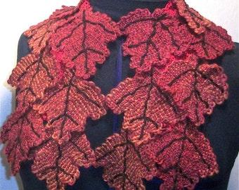 Pin Loom Weaving Leaf Scarf Pattern pdf instant download no shipping Zoom Loom Squares Custom Design DIY