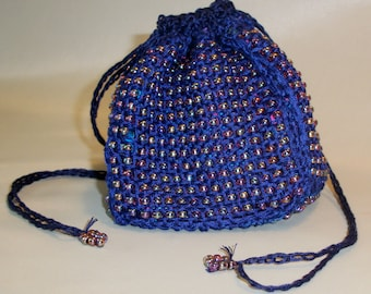 Pin Loom Weaving Beaded Panel Purse or Pin Cushion Pattern pdf instant download no shipping cost Zoom Loom Squares Custom Design DIY