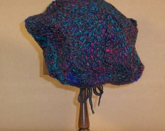 Pin Loom Weaving Five Point Hat Pattern pdf instant download no shipping Zoom Loom Squares Custom Design
