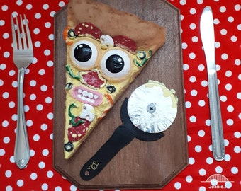 Greed funny pizza Board