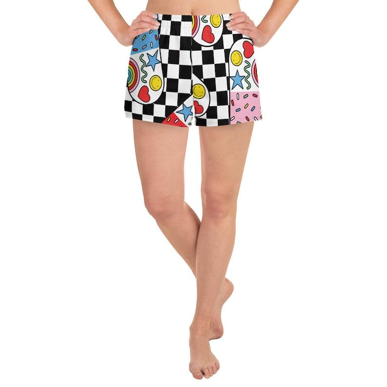 Women/'s Athletic Short Shorts