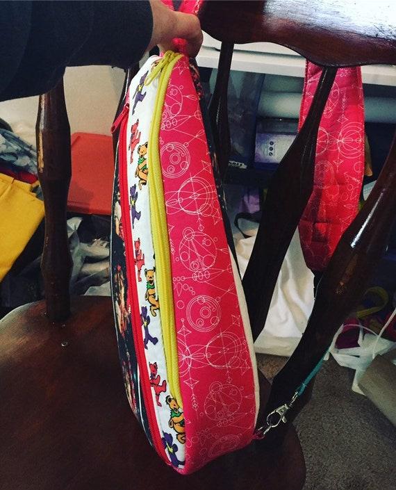 OOAK Grateful Dead parksling backpack*Bag*travel*festival*dead/&company*dead lot